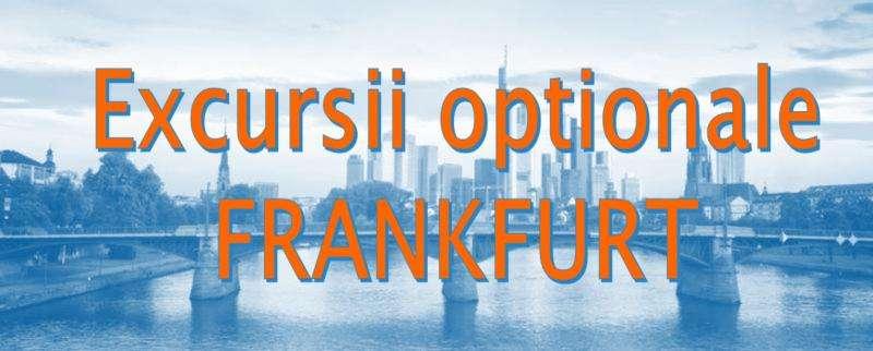 Atractii turistice si excursii optionale Frankfurt