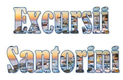Atractii turistice si excursii optionale Insula Santorini