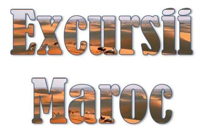 Atractii turistice si excursii optionale Maroc