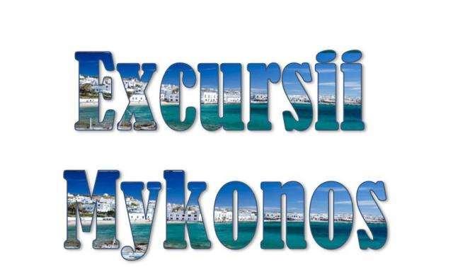 Atractii turistice si excursii optionale Mykonos