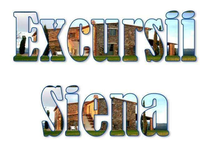 Atractii turistice si excursii optionale Siena