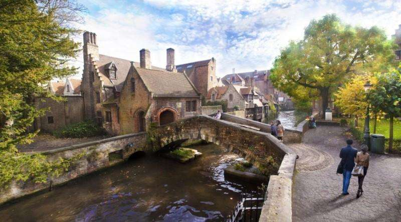 City break Bruges vacanta 1 mai 2018 bilet de avion si hotel inclus