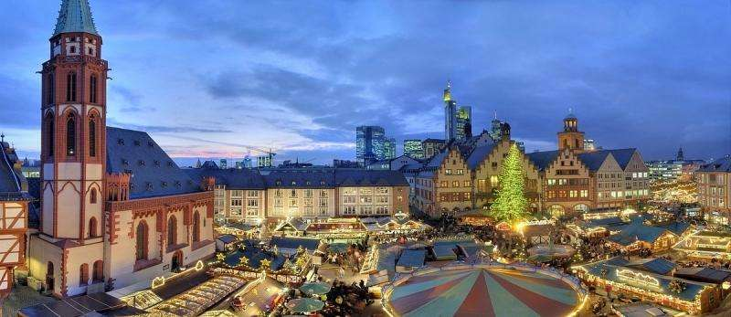City break Frankfurt Craciun 2017 bilet de avion si hotel inclus