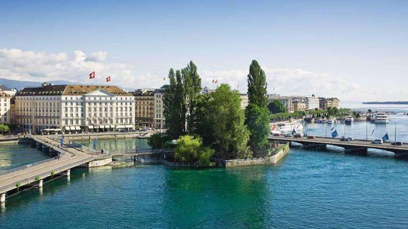 City break Geneva august bilet de avion si hotel inclus