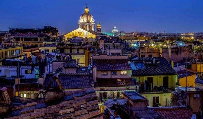 City break Roma august week-end Sf. Maria bilet de avion si hotel inclus