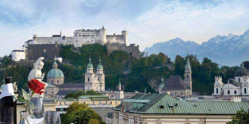 City break Salzburg octombrie 2018 bilet de avion si hotel inclus