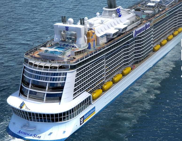 Croaziera 2017 Bermuda Vas: Anthem Of The Seas plecare Bayonne