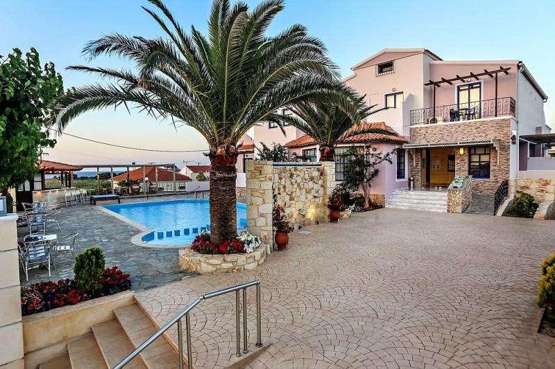 Sejur avion Chania Grecia 2017 oferta Hotel Santa Marina Plaza 5*
