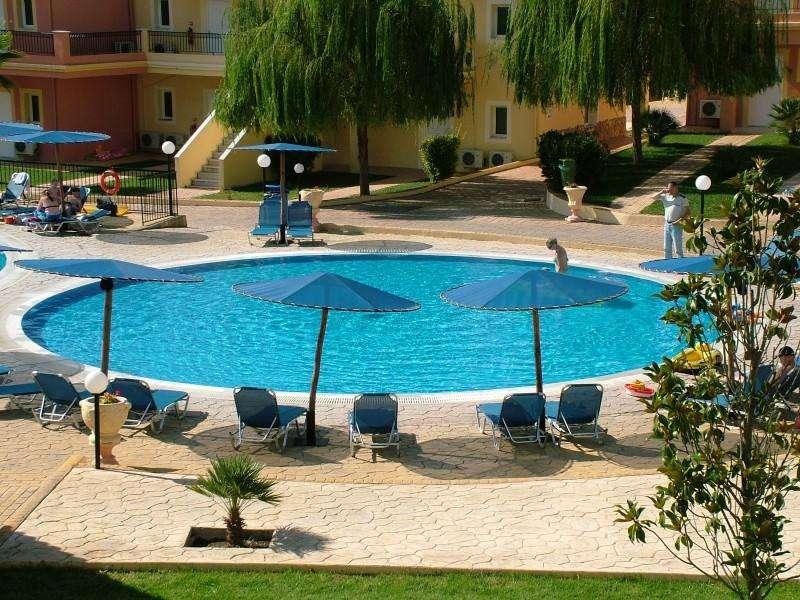 Sejur avion Corfu Grecia 2017 oferta Hotel Golden Sands 3*