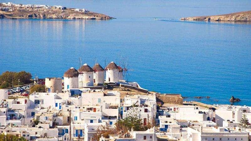 Sejur avion Mykonos Grecia 2018 oferta Hotel Ilio Maris 4*