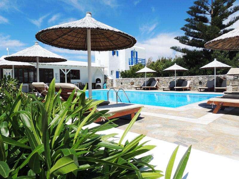 Sejur avion Mykonos Grecia 2018 oferta Hotel Myconian Korali 5*