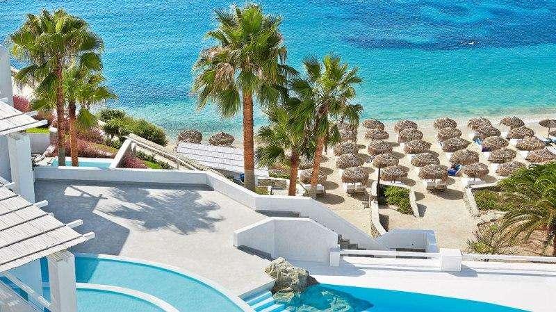 Sejur avion Mykonos Grecia 2018 oferta Hotel Myconian Naia 5*