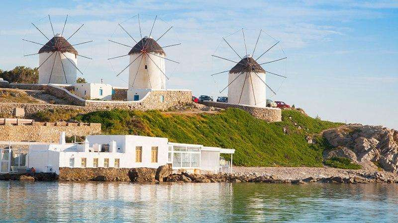 Sejur avion Mykonos Grecia 2017 oferta Hotel Pietra e Mare (adulti si copii peste 13 ani) 4*