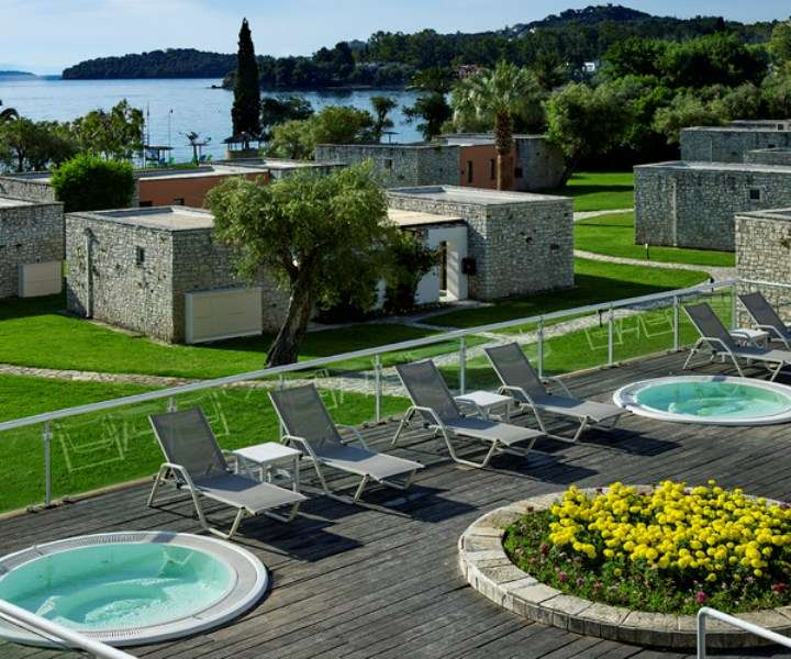 Sejur Corfu Grecia individual Hotel LIVADI NAFSIKA 3*