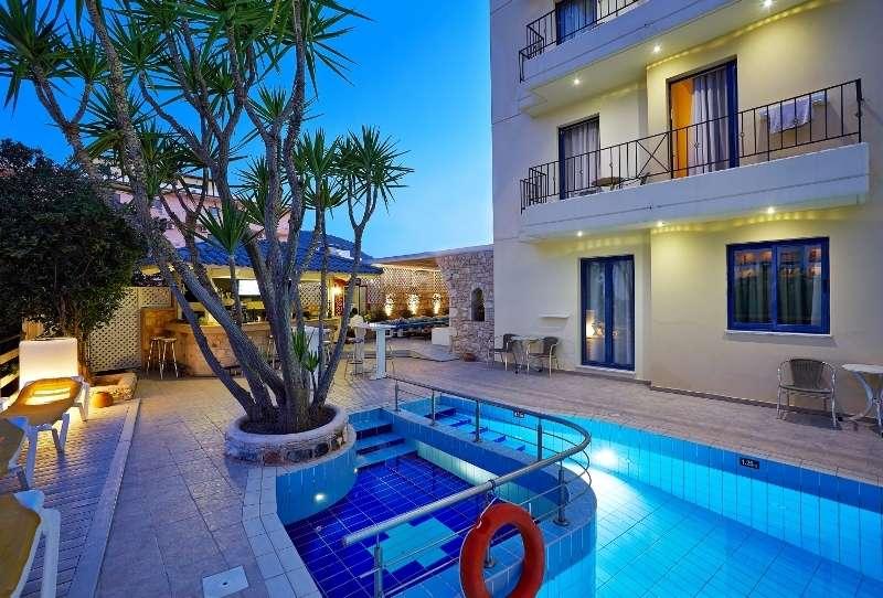 Sejur avion Creta Grecia 2017 oferta Hotel FLORAL 3*