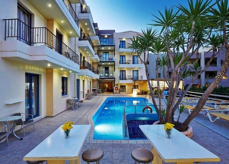Sejur avion charter Creta Grecia 2018 oferta Hotel HORIZON BEACH 3*