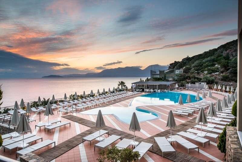 Sejur avion charter Creta Grecia 2018 oferta Hotel MANOS MARIA 4* all inclusive