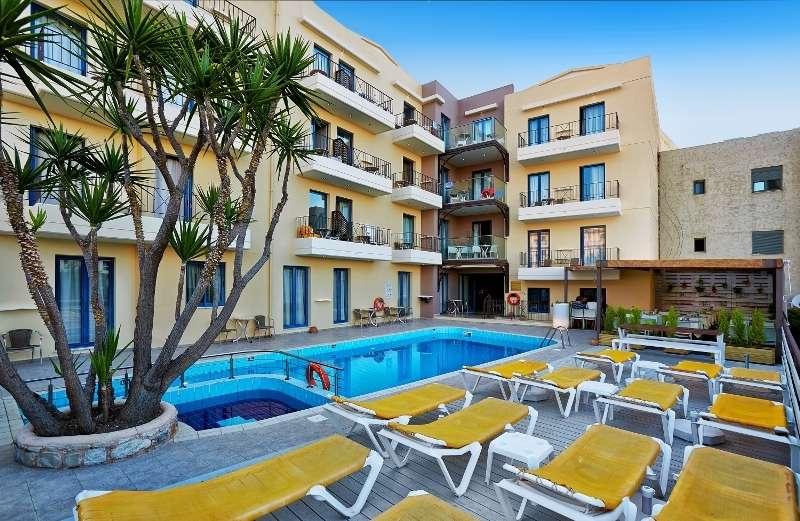 Sejur avion charter Creta Grecia 2018 oferta Hotel Serita Beach 5*
