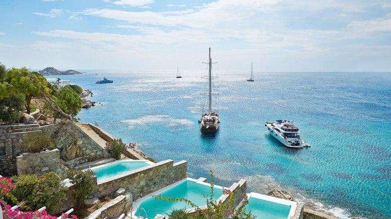 Sejur Mykonos luna octombrie 2017 bilet avion si hotel inclus