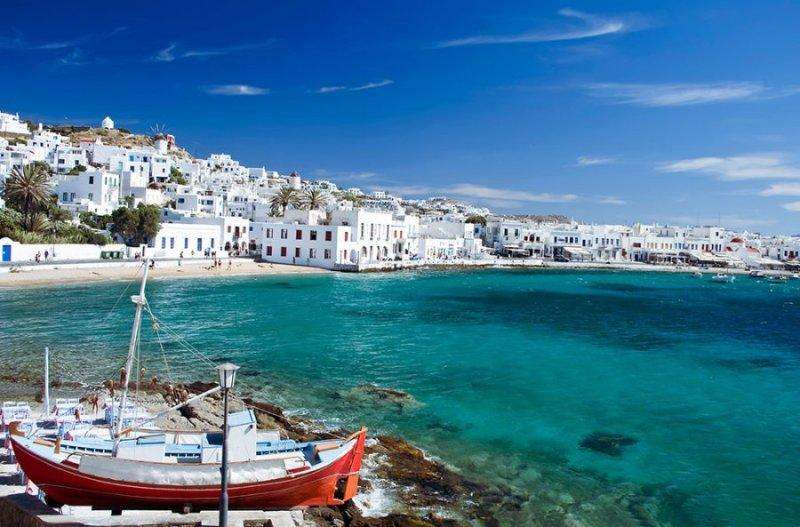 Sejur Grecia Mykonos septembrie 2018 bilet avion, hotel si taxe incluse