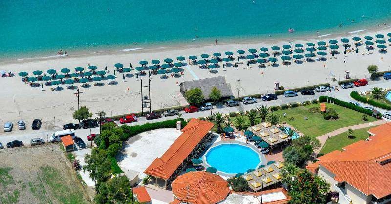Sejur Halkidiki Grecia individual Blue Dolphin Sargani Hotel 4*