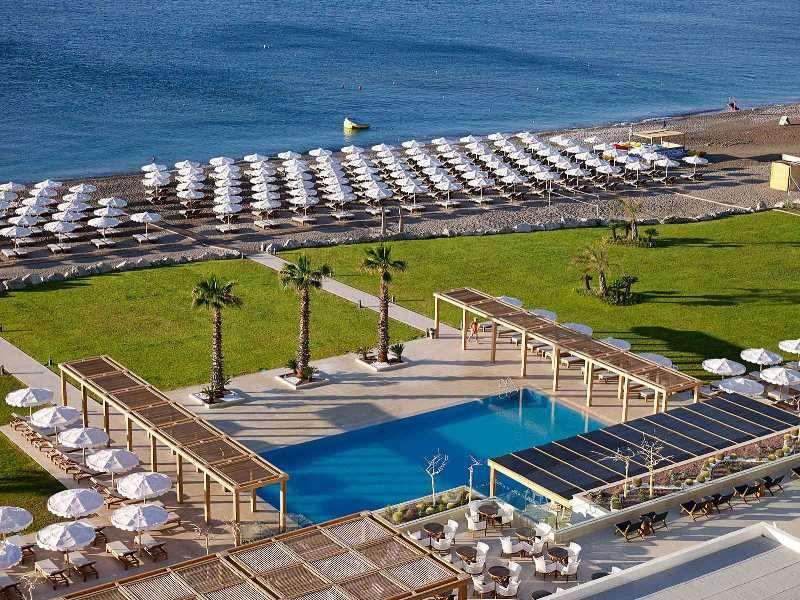 Sejur avion Insula Rhodos Grecia avion 2017 oferta Hotel Achousa 2*
