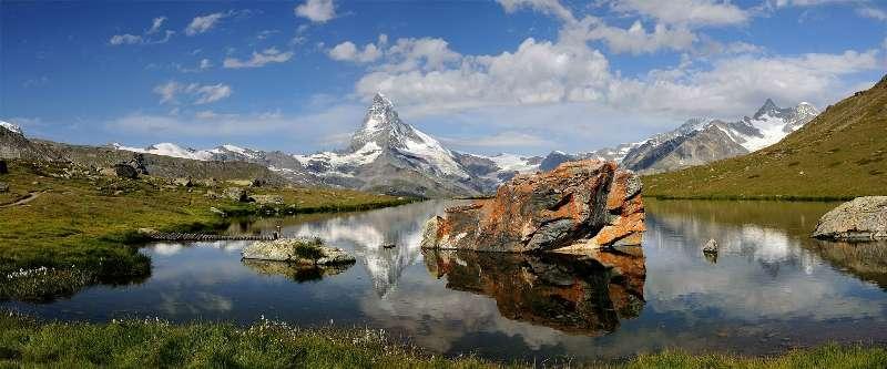Sejur la munte Lacuri Elvetia octombrie
