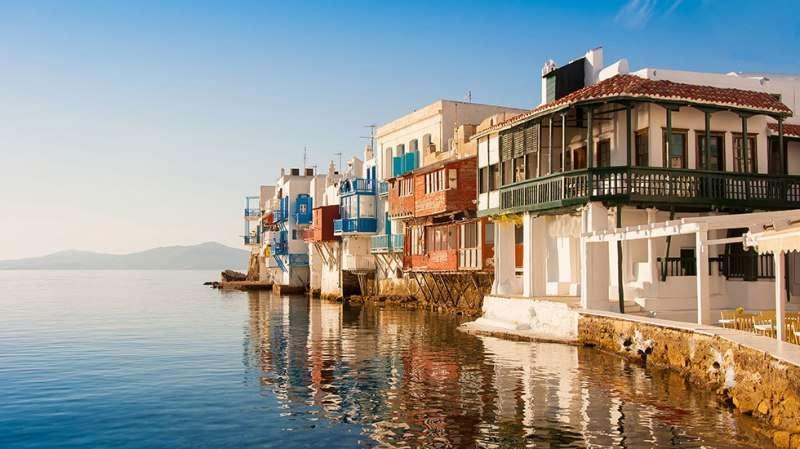 Sejur Mykonos Grecia avion 2017 oferta Hotel Alkistis 3*