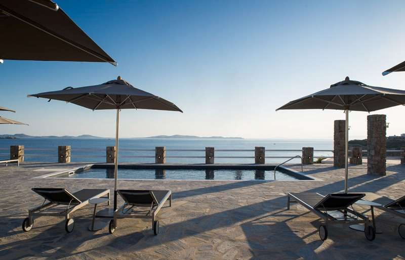 Sejur Mykonos Grecia avion 2018 oferta Hotel Alkistis 3*