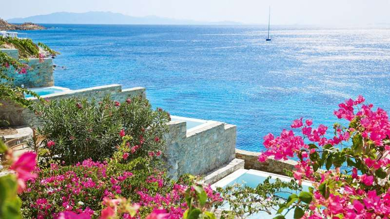 Sejur Mykonos Grecia avion 2017 Hotel Royal Myconian Resort and Villas 5*