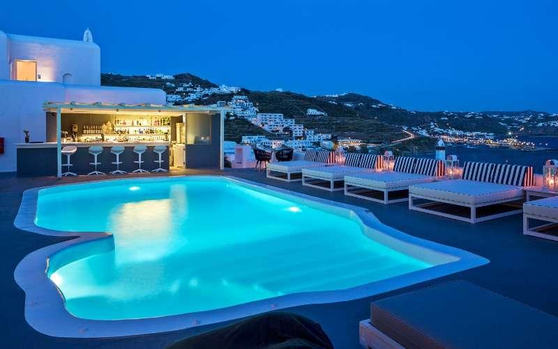 Sejur Mykonos Grecia avion 2017 oferta Hotel San Marco 5*