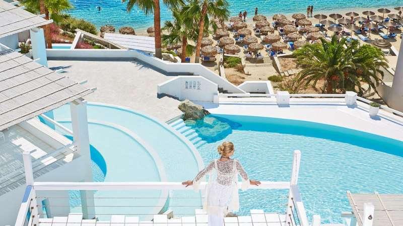 Sejur Mykonos Grecia avion Hotel Villa del Sol 3*