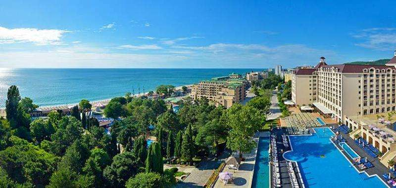 SEJUR PASTE 2018 BULGARIA NISIPURILE DE AUR HOTEL PLISKA 3*