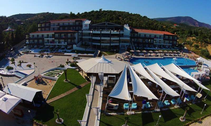 Sejur Thassos Grecia individual Hotel Kapahi Beach Hotel ( Pefkari) 2*
