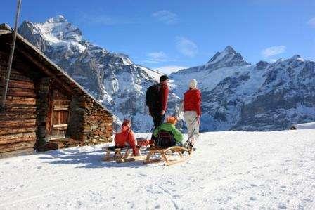 Ski Elvetia Interlaken martie 2018 bilet de avion si hotel inclus