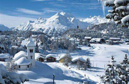Ski St Moritz Elvetia februarie 2018 bilet de avion si hotel inclus