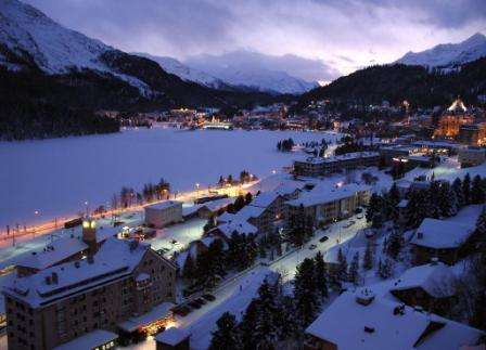 Ski St Moritz Elvetia inceput de sezon cu bilet de avion si hotel
