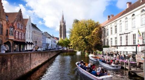 City break Bruges Revelion 4* 2018  bilet de avion si hotel inclus