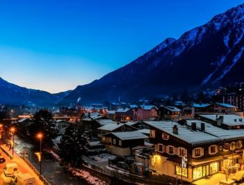 City break  Chamonix  Craciun 2017  bilet de avion si hotel inclus