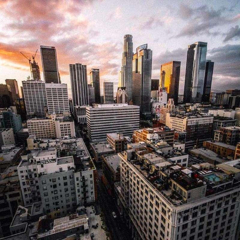 Vacanta exotica Los Angeles august 2018