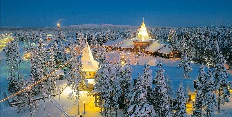 Vacanta in Tara lui Mos Craciun Laponia Finlanda decembrie 2018