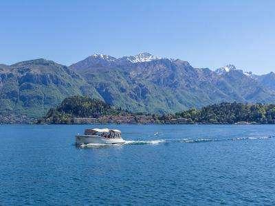 Vacanta la munte Lacul Como ianuarie